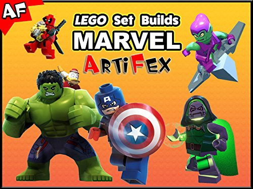 Clip: Lego Set Builds Marvel - Season 2