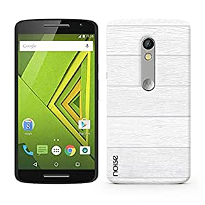 Noise The Woods-White Printed Cover for Motorola Moto X Play
