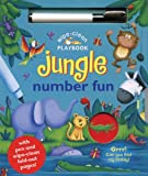 img - for Wipe-Clean Jungle: Number Fun: With Pen and Wipe-Clean Fold-out Pages (Wipe-Clean Playbooks) by Ben Adams (2012-08-01) book / textbook / text book