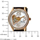 Stuhrling Original Women's 196A2.11457 Lifestyle Audrey Love Story Automatic Skeleton Swarovski Watch Set