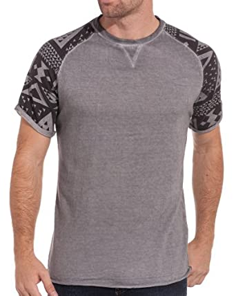 Sixth June - Tee shirt homme swag gris - couleur: Gris - taille: XS