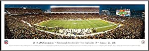 BLAKEWAY PANORAMAS PITTSBURGH STEELERS - AFC CHAMPIONS - HEINZ FIELD - NFL PANORAMA... by Blakeway Worldwide Panoramas