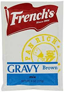 Durkee French's Pan-Rich Brown Gravy, 6-Ounce