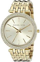 Michael Kors Women's MK3191 Darci Gold-Tone Watch
