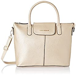 Lino Perros Women's Handbag (Golden)