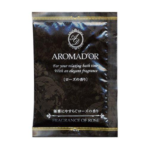 アロマドール入浴剤 フレグランスローズの香り 12包