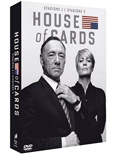 House of Cards Boxset - Stagione 1+2 (8 DVD)