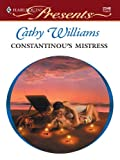 Constantinou's Mistress (The Greek Tycoons Book 24)