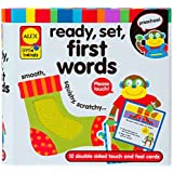 ALEX Toys Little Hands Ready, Set, Touch and Feel Flash Cards, First Words Size: First Words Model: 1434