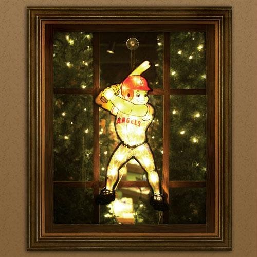 Anaheim Angels Window Light Up Player