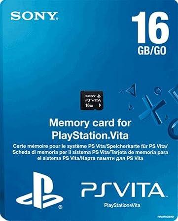 PS Vita Memory Card 16GB Model (PlayStation Vita)