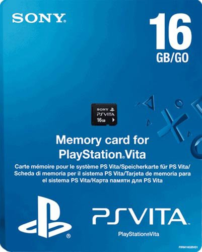 PS Vita Memory Card 16GB Model (PlayStation Vita)