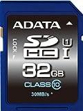 ADATA Premier SDHC UHS-I U1 Class10 32GB - Tarjeta de memoria (Negro, Azul, Secure Digital High-Capacity (SDHC), Norton Internet Security trial, Ampolla, FCC, CE, BSMI, VCCI)