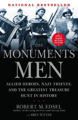Book cover to 'The Monuments Men'