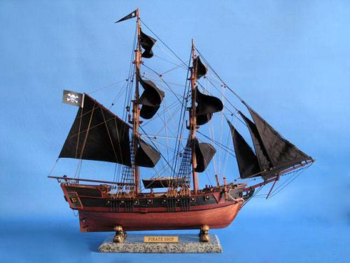 how to build a small scale replica of a pirate ship.? | Trawler Plans