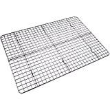 Checkered Chef Cooling/Baking Rack. Stainless Steel Oven Safe. Fits Half Sheet Cookie Pan