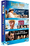 echange, troc Hercule Poirot - Coffret - Le crime de l'Orient Express + Mort sur le Nil + Meurtre au soleil