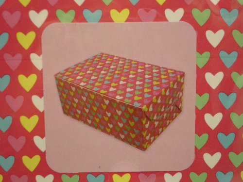 Valentines Day Heart Treat or Candy Boxes, Holiday