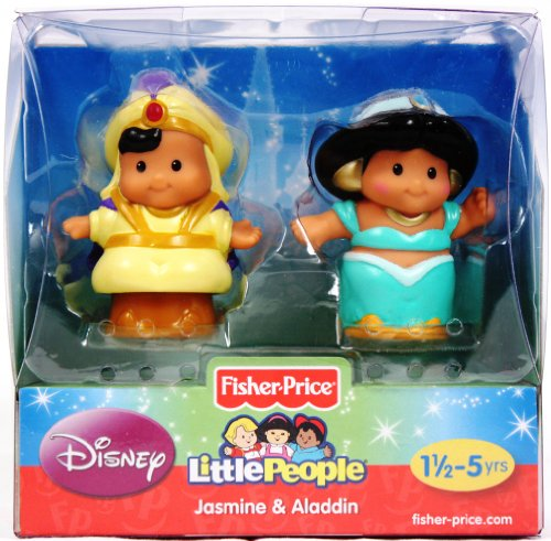 Fisher-Price Little People Aladdin y Jasmine de Disney