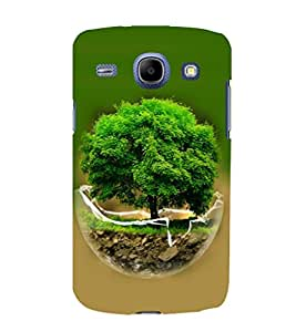 printtech Globe Tree Concept Nature Back Case Cover for Samsung Galaxy A3 / Samsung Galaxy A3 A300F