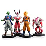 FIGURINE DRAGON BALL Z - lot de 4 FIGURINES hauteur : 14 cm