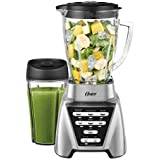 Oster Pro 1200 Blender Plus Smoothie Cup, Brushed Nickel