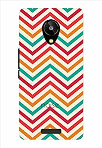 Noise Classy Aztec-White Printed Cover for Lava Iris X1 Selfie