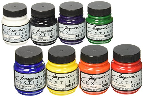 jacquard-products-jac1000-textile-color-fabric-paint-8-pack-225-oz-primary-secondary-colors-assorted