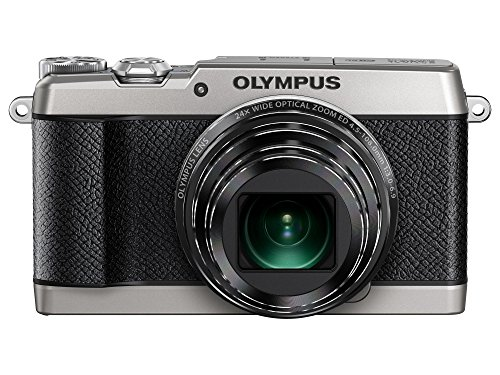 Olympus SH-2 16 MP Digital Camera with 24x Optical Image Stabilized Zoom with 3-Inch LCD (Silver with Black Trim)