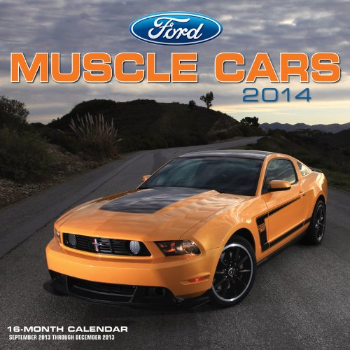 ford-muscle-cars-2014-calendar