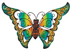 Regal Art and Gift Butterfly Wall Decor, 9-Inch by Regal Art and Gift