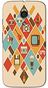 Timpax Light Weight One-piece construction Hard Back Case Cover Printed Design : Appliances and gadgets.Precisely Design For : Motorola Moto-G-2 ( 2nd Gen )