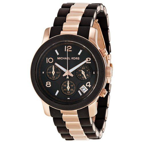 Michael Kors MK5658 Ladies Chocolate Rose Gold
