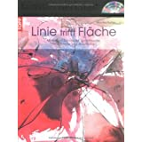 """Linie trifft Fl�che: Motive mit Rohrfeder, Spritzflasche, Tinte, Tusche und Acrylfarbenvon """"Monika Reiter"""""""