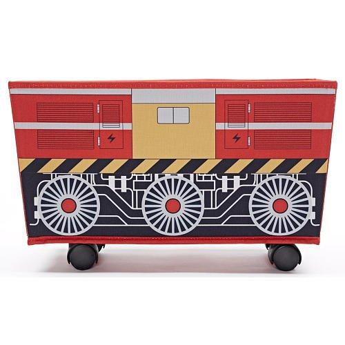 Imaginarium Rolling Toy Storage Red - 1