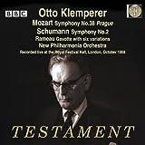 Mozart: Sinfonie Nr.38 / Schumann: Sinfonie Nr.2 / Rameau: Gavotte