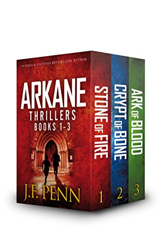 ARKANE Thriller Box-Set 1- 3: Stone of Fire, Crypt of Bone, Ark of Blood (ARKANE Boxset)
