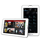 BearTab® Unlocked 7 Inch Android Tablet Phone (16GB) - Quad Core 1.5ghz - Best IPS LCD Screen - Bluetooth & GPS Support - 5MP Camera with Auto Focus - DDR RAM 1GB Memory - Phone Phablet - Front and Back Camera with Flash - Wifi + 3G - Cell Phones & Smartphones, Mobile w/ Dual Sim Card Slot - Android 4.4.2 KitKat - Tmobile, AT&T and GSM Sim Cards - 1 YEAR WARRANTY