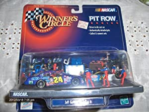 Jeff Gordon #24 Dupont Superman Pit Row Series Pulling In 1:24 scale 1999 Winners Circle Diecast Car