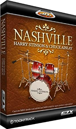 Toontrack Nashville EZX Expansion Pack for EZdrummer