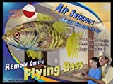 William Mark 7342 Air Swimmers Remote Control Flying Bass & Shark Combo