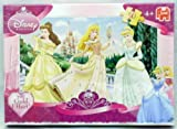 Disney Princess Enchanted Tales: 50pc Puzzle - Princess Belle, Aurora & Cinderella On Palace Balcony