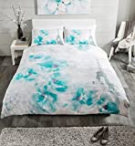 [Hachette] 3PC TINTED DREAM LIGHT TEAL (PARIS) KING SIZE BEDDING BED DUVET COVER QUILT SET WITH PILLOWCASES