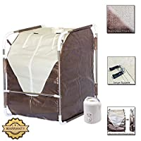 DURHERM Portable Folding SPA Home Steam Sauna for Detox Therapy Slimming Weight Lose NEW