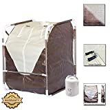 DURHERM Portable Folding SPA Home Steam Sauna for Detox Therapy Slimming Weight Lose NEW Picture