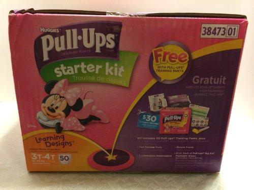 Huggies Pull-ups Starter Kit - Girl's Size 3T/4T - 1