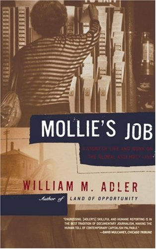 Image for Mollie's Job: A Story of Life and Work on the Global Assembly Line
