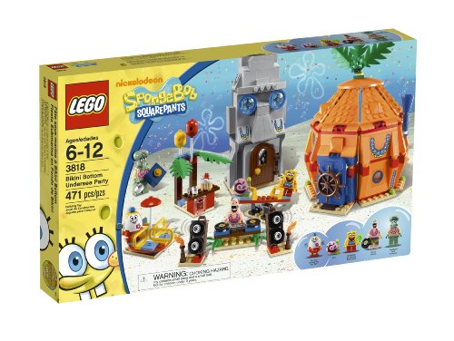 LEGO SpongeBob Bikini Bottom Undersea Party 3818 Amazon.com
