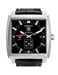 Southern Methodist University TAG Heuer Watch - Men's Monaco Watch