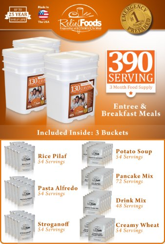 Best Value One Year Emergency Food Supply